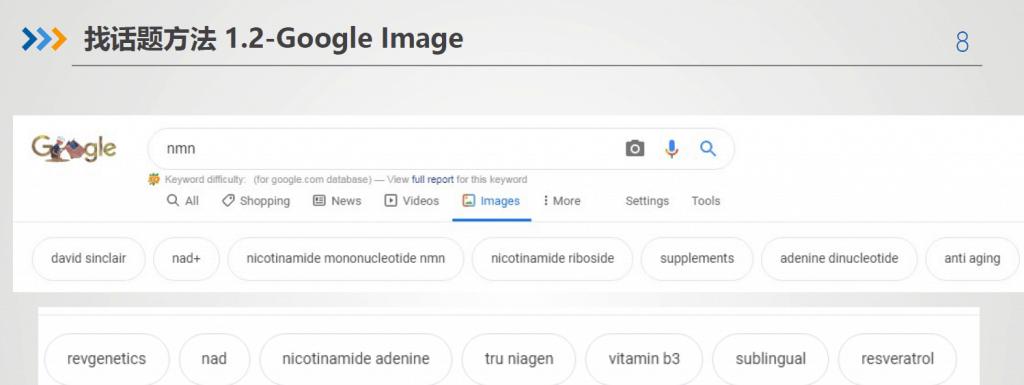 Google Image查找相关关键词